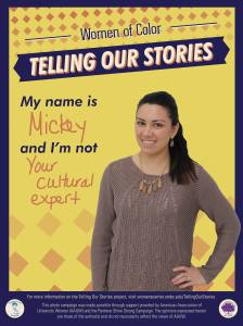 Mickey, UHS's Health Education Coordinator, shares her I'm Not as part of the Telling Our Stories Project
