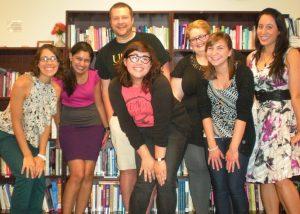 2013-2014 Women's Center staff photo